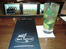 Mojito at Bar Louie