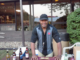 Will bartending at the Axcel corporate party!