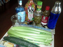 Bloody Mary Ingredients