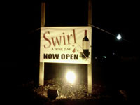 The Swirl Wine Bar in Cleveland