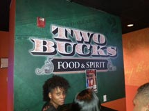 Two Bucks Food & Spirits